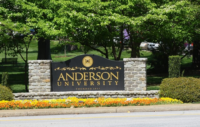 Anderson University - Bachelors Human Resources