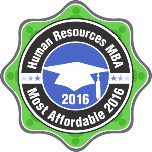 Human Resources MBA - Most Affordable 2016